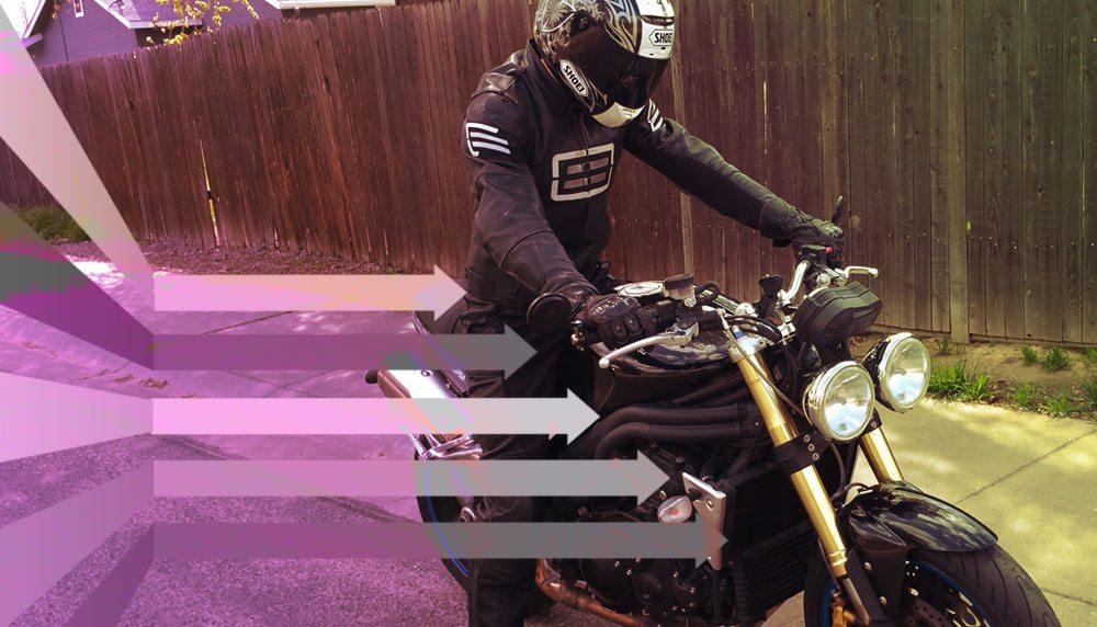 borrow a motorbike