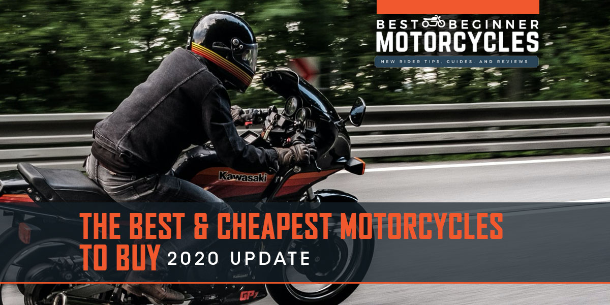 Best and cheapest motorcycles 2020