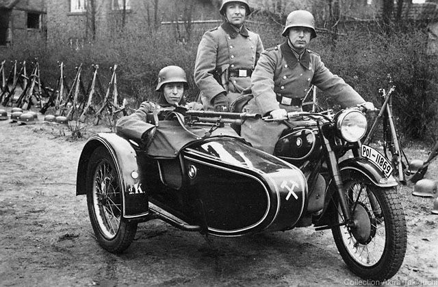 German Motorcycle Helmets Unique Stylish And Formidable
