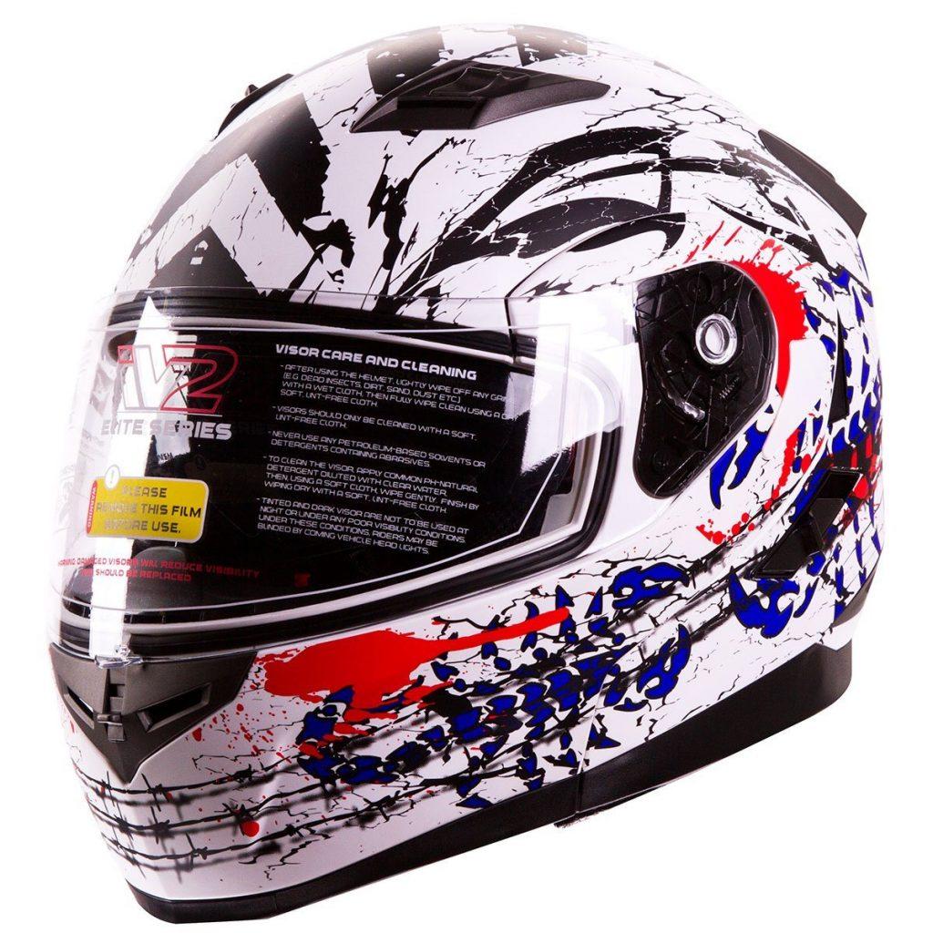 "93c45f28 IV2 ""The Patriot"" Modular Dual Visor Helmet"
