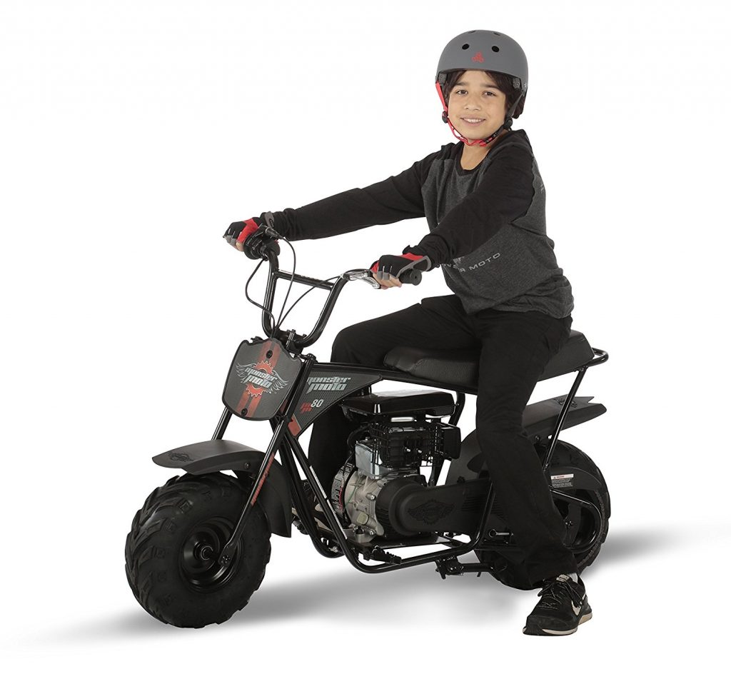 mini bike motorcycle moto monster bikes kid classic gas ride motor b80 br race mm speed amazon heart young disc