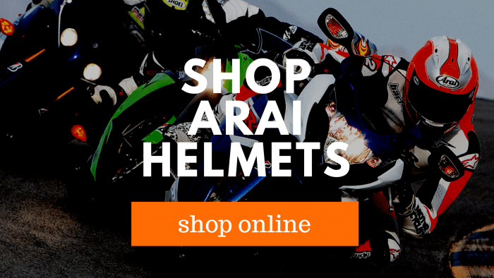 buying arai helmets
