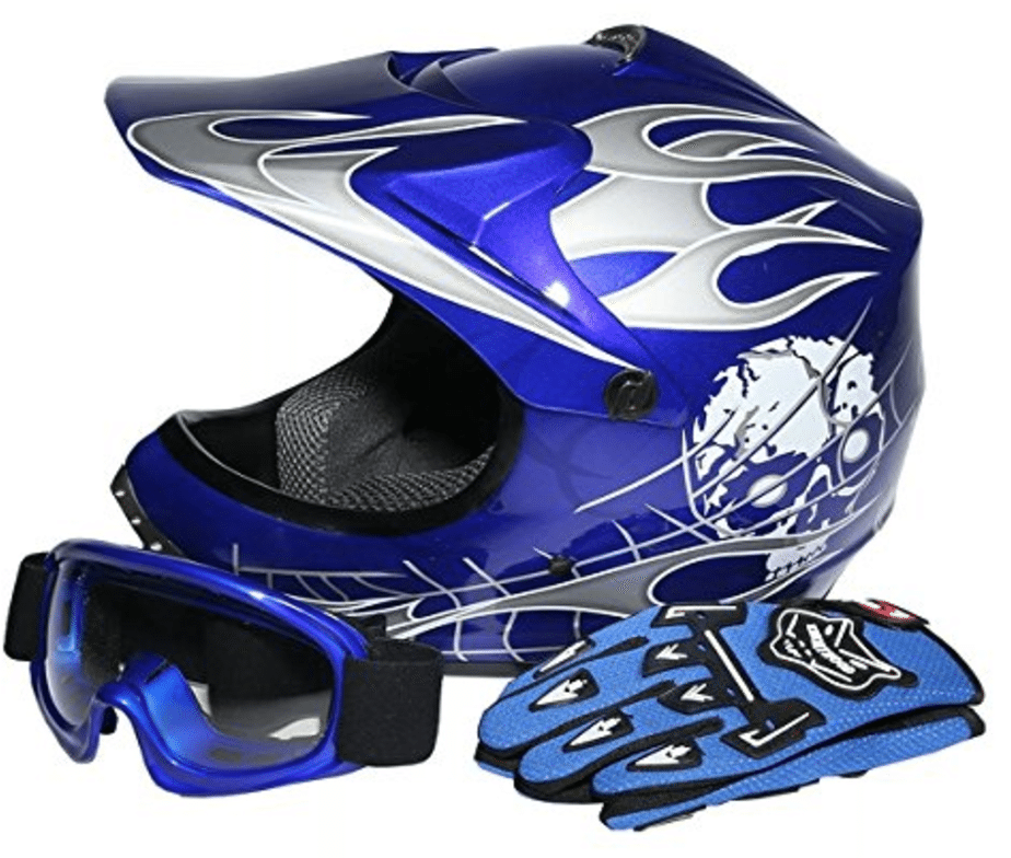 TCMT Dot Youth & Kids Motocross Offroad Street Helmet