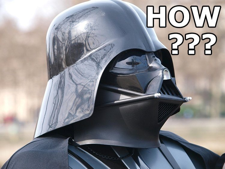 How To Make A Darth Vader Helmet 1