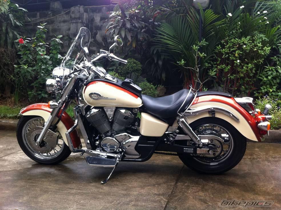 Honda Shadow VT750 Ace