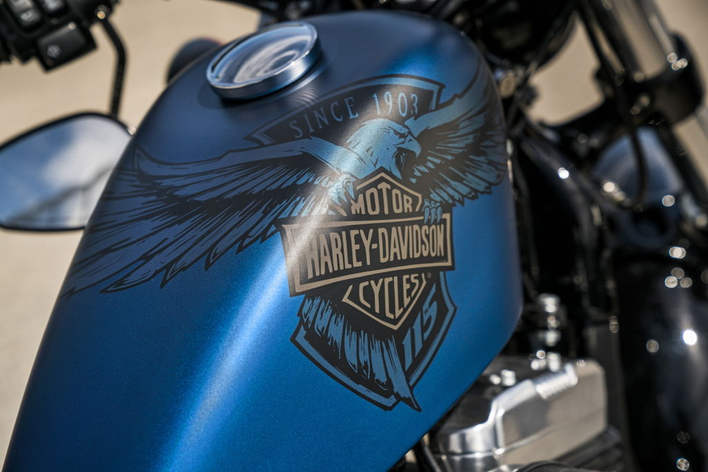 Two New Harleys Forty Eight Special Iron 1200 Sportster