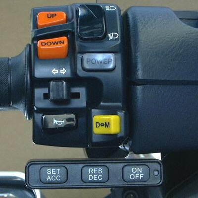 Motorcycle Cruise Control system