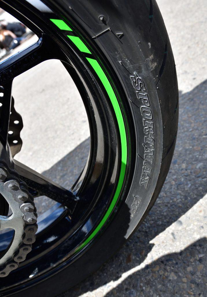 2018 Kawasaki Ninja 400 Tires