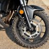 2016 Honda CB500X with a TKC80 for a front tire.
