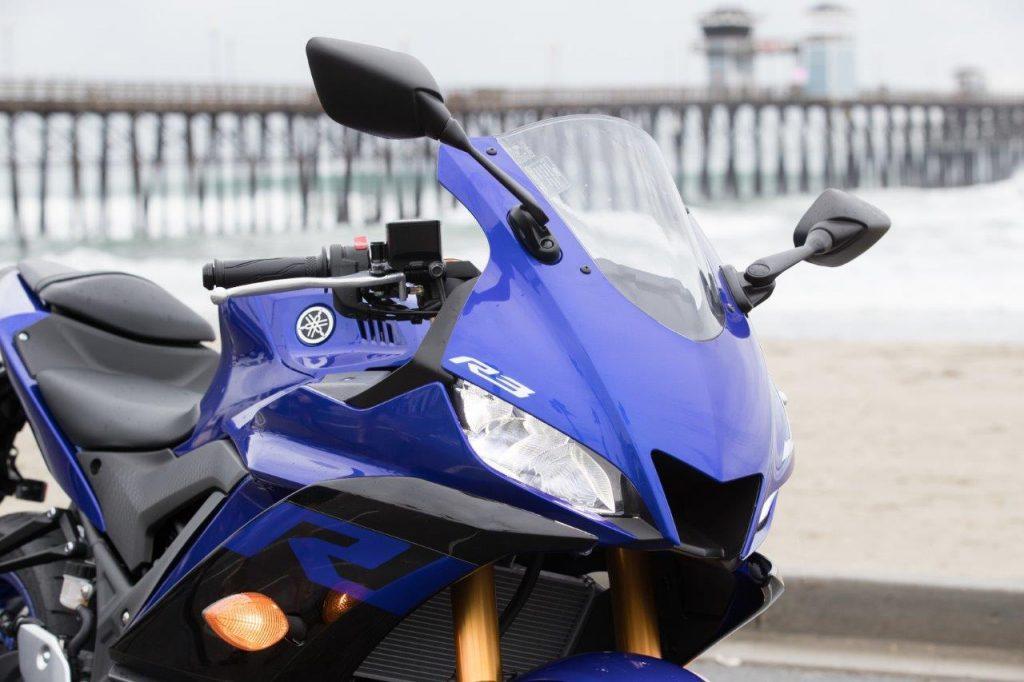 2019 Yamaha YZF-R3 fairings