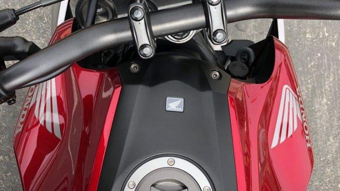 2019 Honda CB300R gas tank.