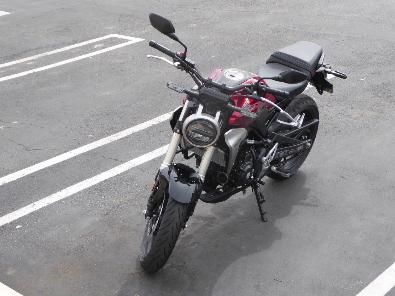 2019 Honda CB300R.