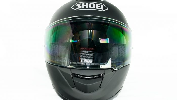 Shoei GT Air helmet.