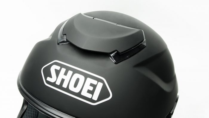 Shoei GT Air helmet top vent.