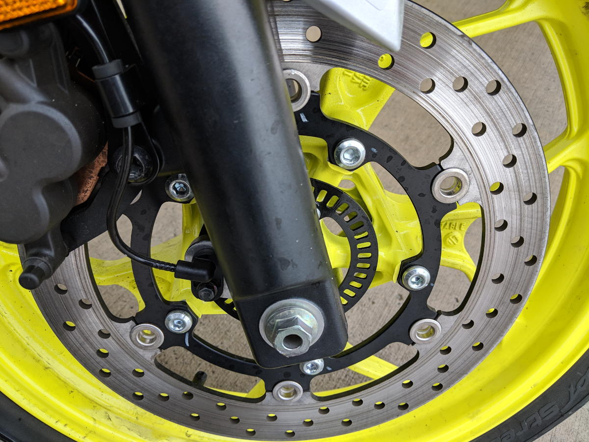 Motorcycle disc brake