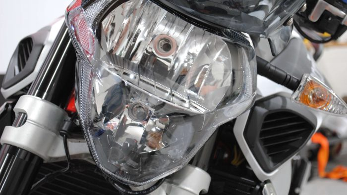 Applying Protective Film to Your Motorcycle