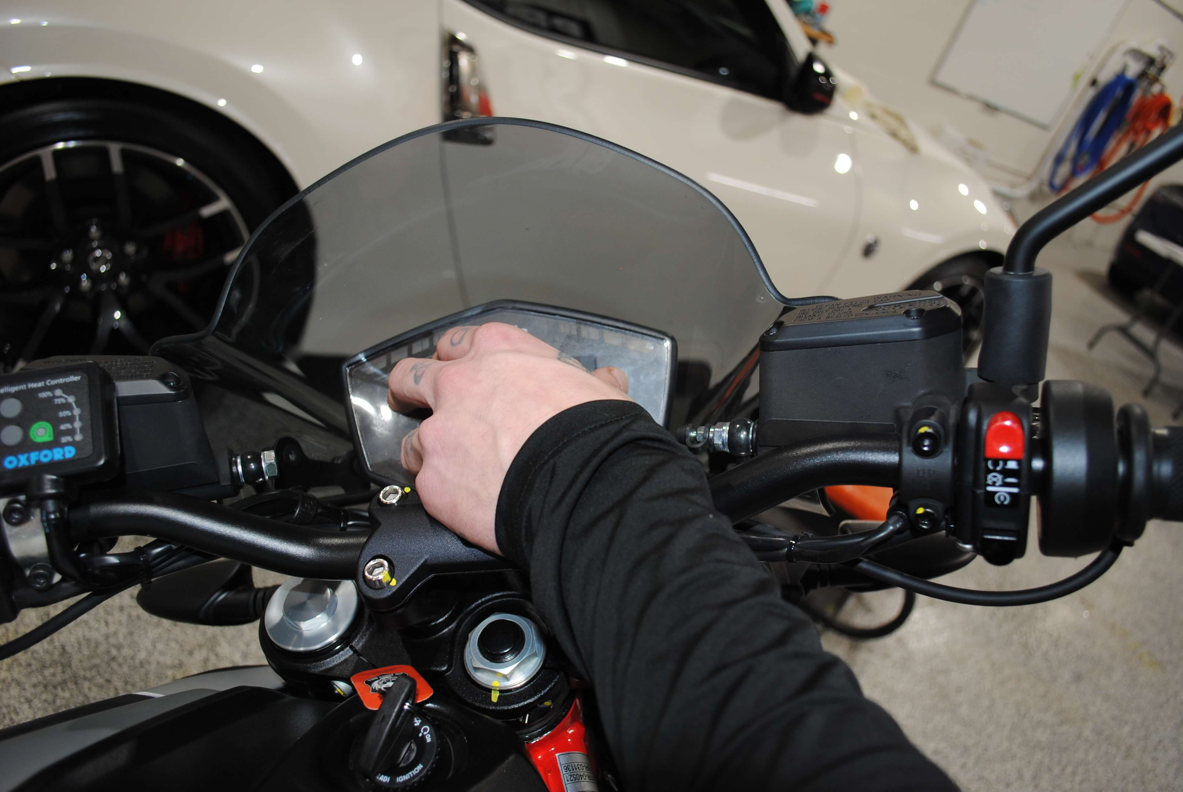 Installing Protective Film to Your Motorcycle