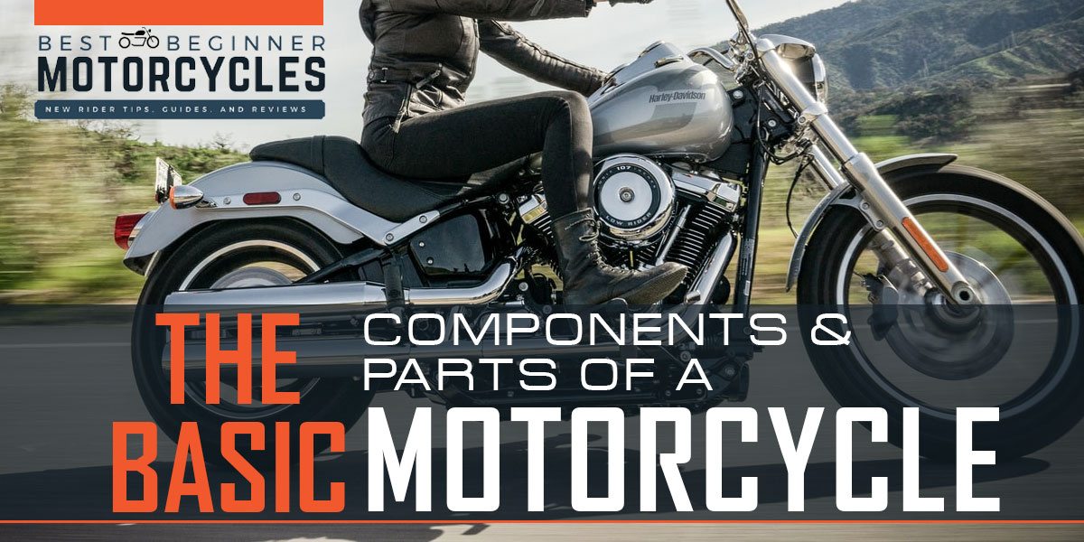 The Basic Parts on a Motorcycle