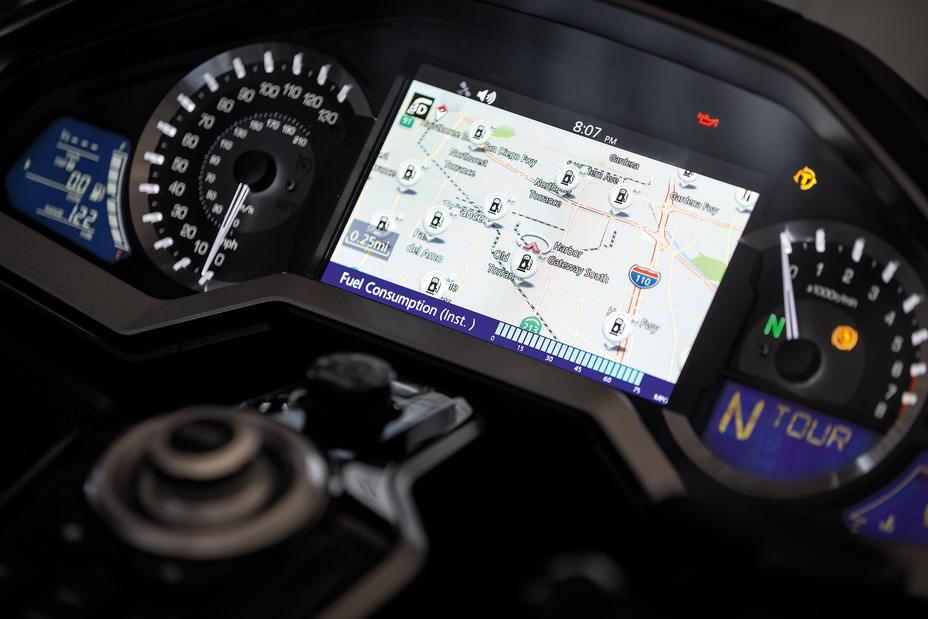 Honda Goldwing navigation