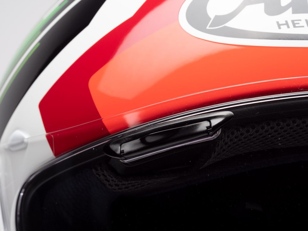 Arai Corsair-X Helmet brow vents