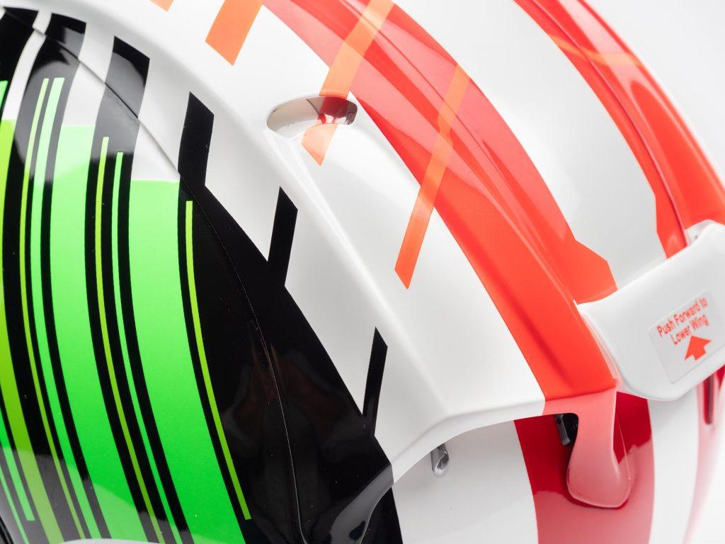 Arai Corsair-X Helmet vent