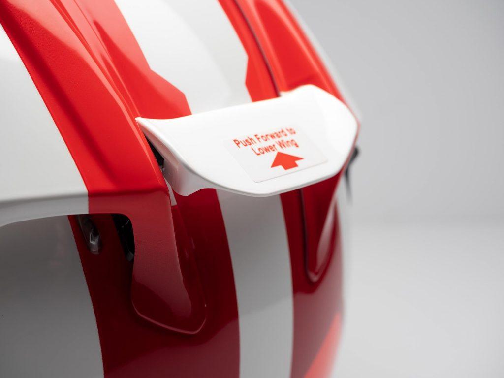 Arai Corsair-X Helmet rear spoiler tab
