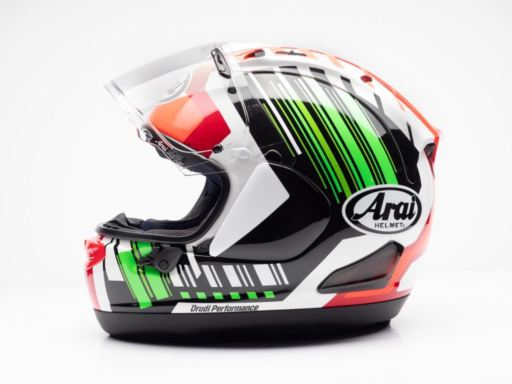 Arai Corsair-X Helmet profile view