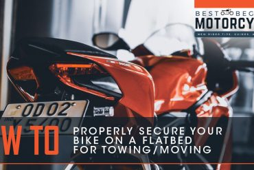 How to Tow Your Motorcycle on a Flatbed