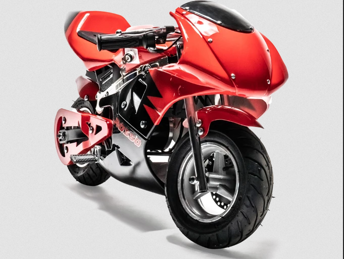 Rosso Motors F1 eRacer Pocket Bike