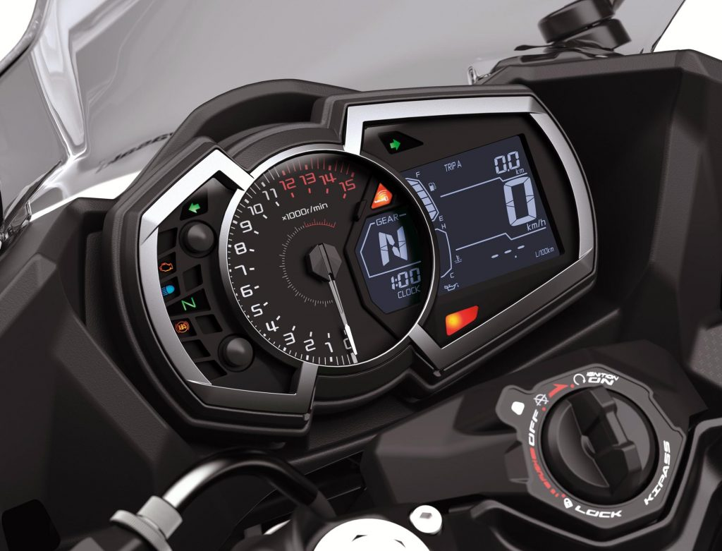 2020 Kawasaki Ninja 400 dash