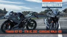 2020 Yamaha YZF-R3 vs KTM RC390 vs Kawasaki Ninja 400