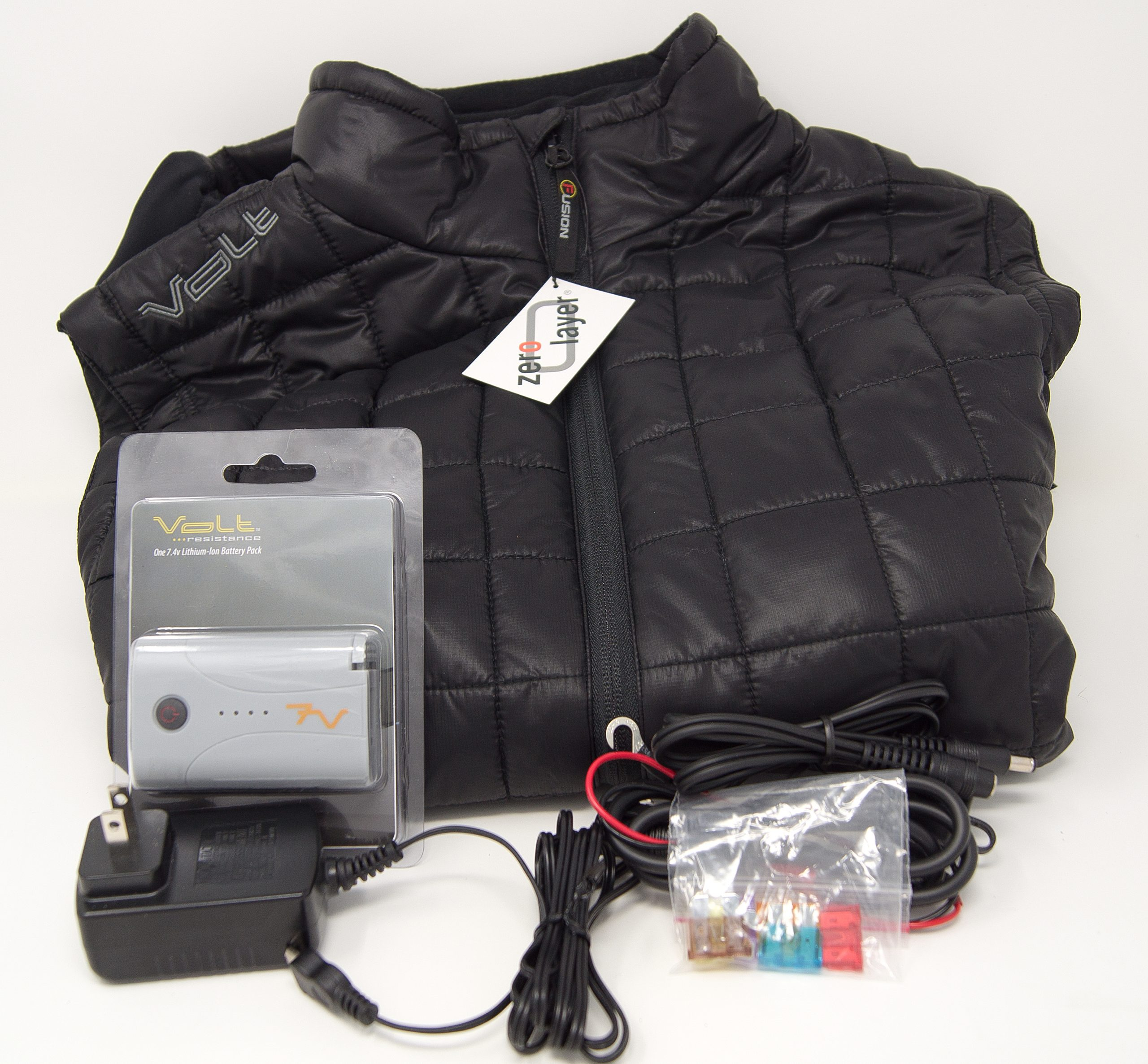 volt heat fusion dual source heated vest