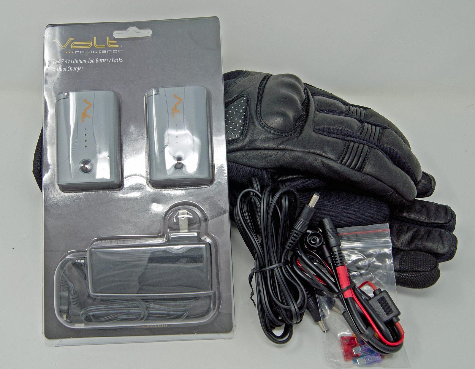 volt heat fusion gloves complete kit