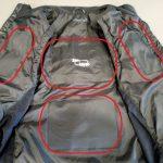 volt heat fusion vest heating zones