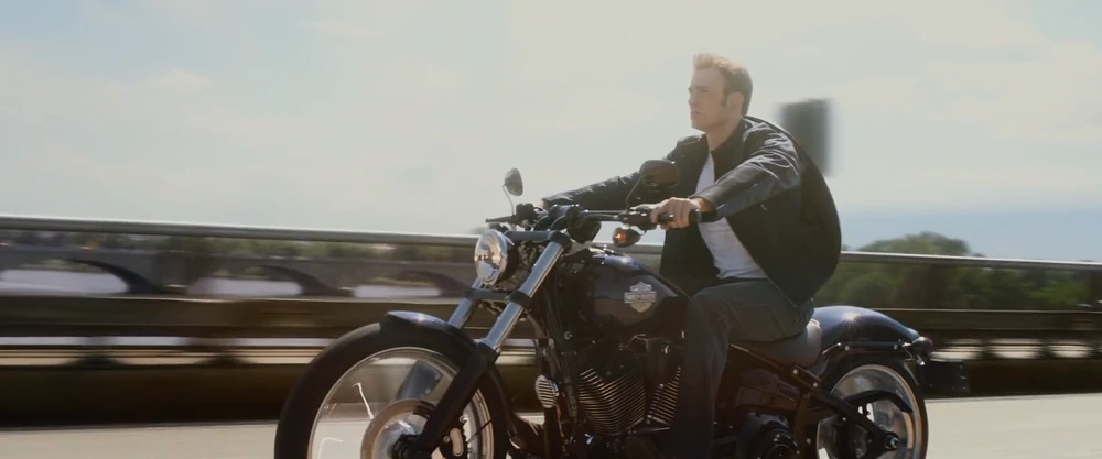 2012 Harley-Davidson Softail Slim from movie Captain America: The Winter Soldier