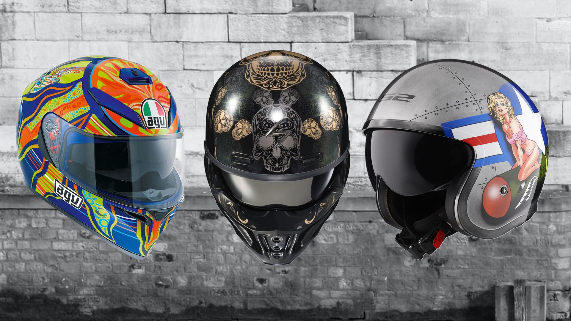 Best Graphic Helmets Under 500