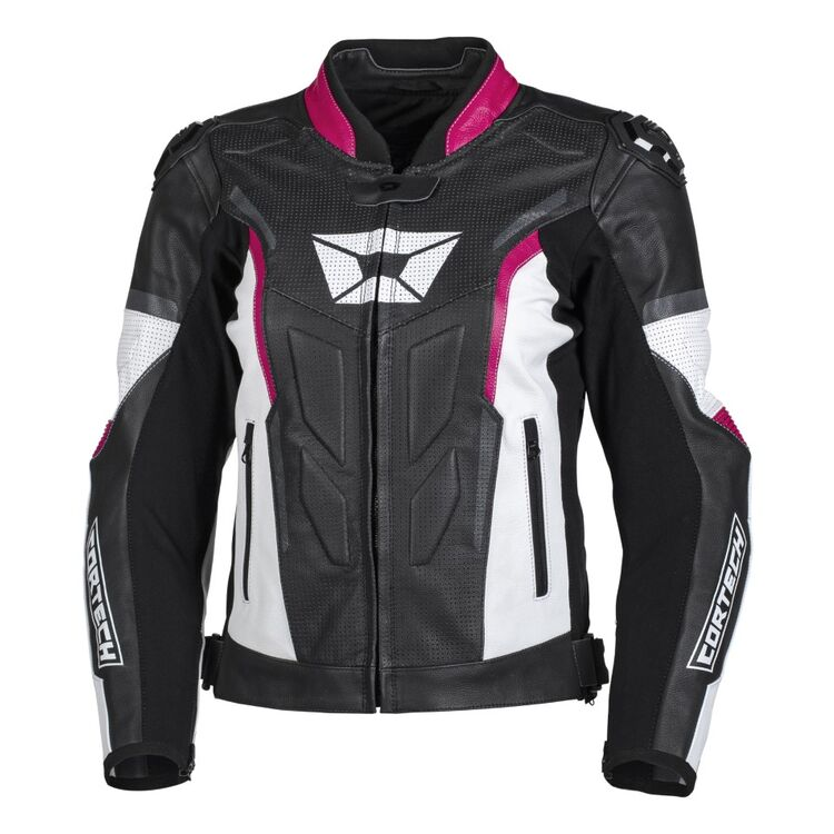 Cortech Apex V1 Women's Leather Motorcycle Jacket