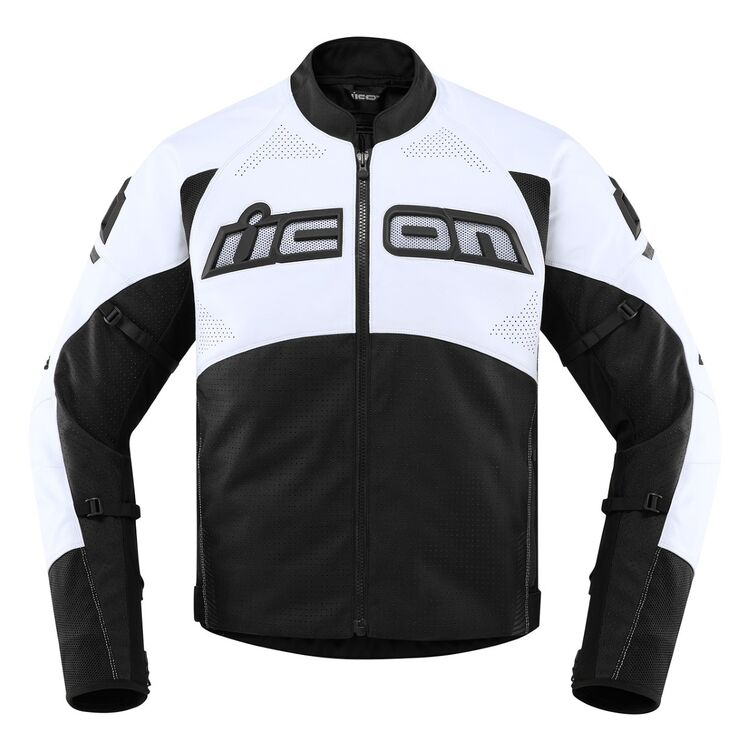 Icon Contra 2 Perforated Men's Leather Motorcycle Jacket