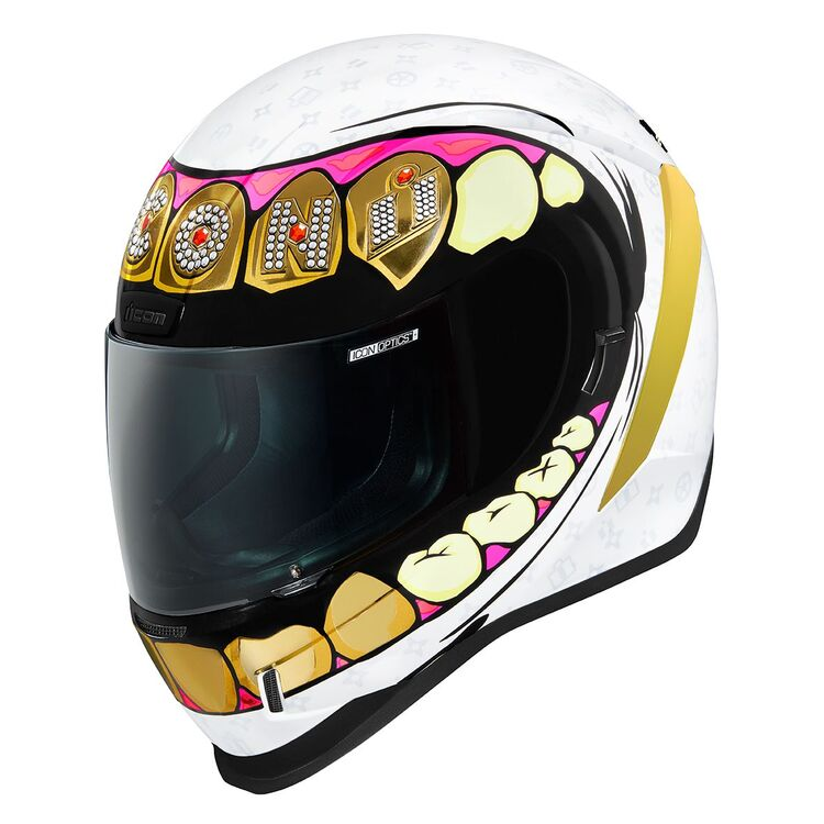 ICON Airform Grillz Full Face Motorcycle Helmet