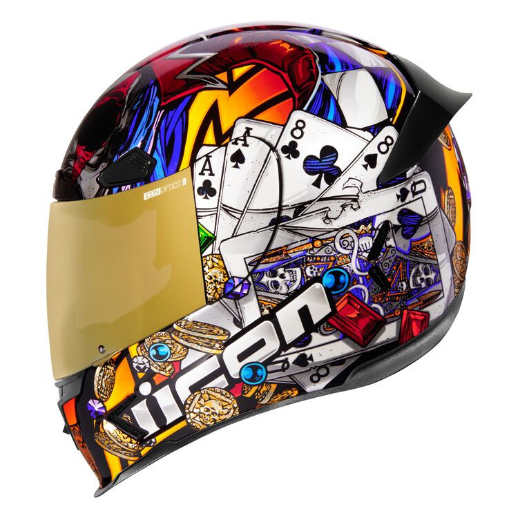 ICON Airframe Pro Lucky Lid 3 Full Face Motorcycle Helmet