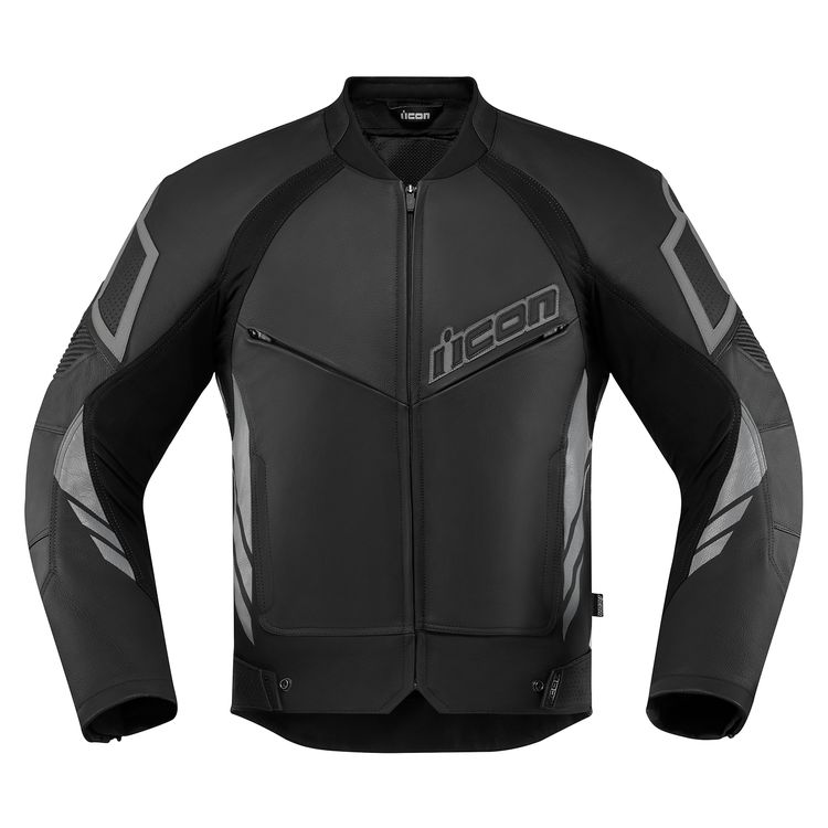 ICON Hypersport 2 Men's Leather Motorcycle Jacket