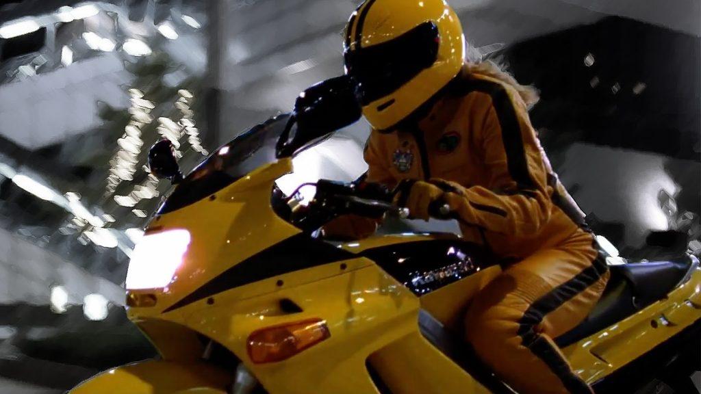 Kawasaki ZZ-R250 from movie Kill Bill Vol 1