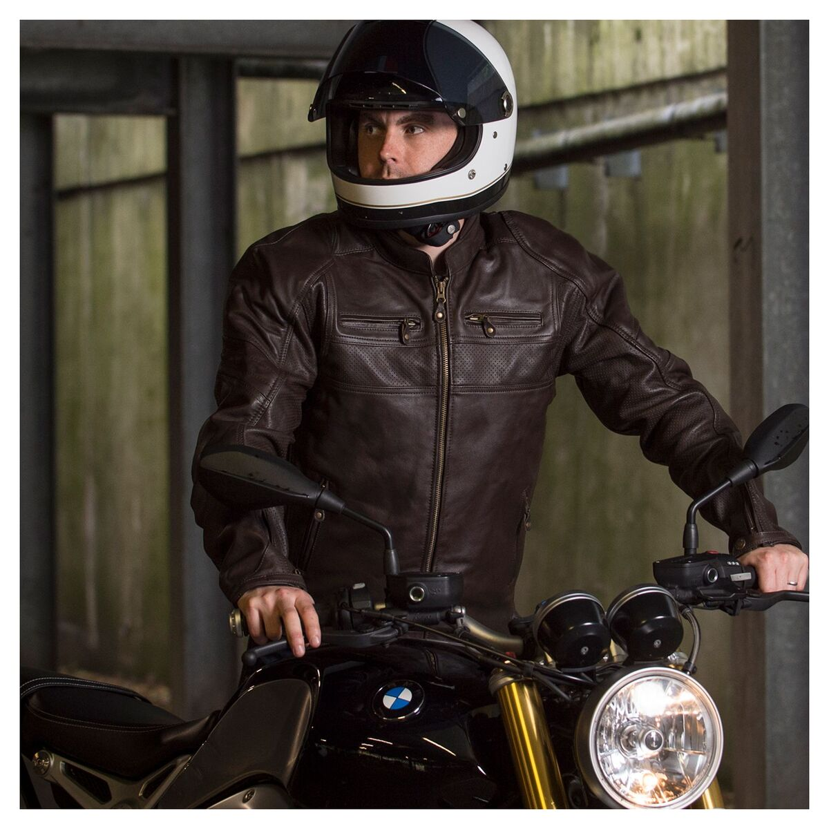 Merlin Odell Air Jacket Men's Leather Motorcycle Jacket