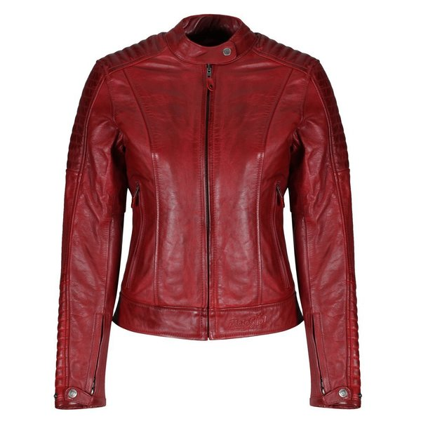 Motogirl Valerie Women's Leather Motorcycle Jacket