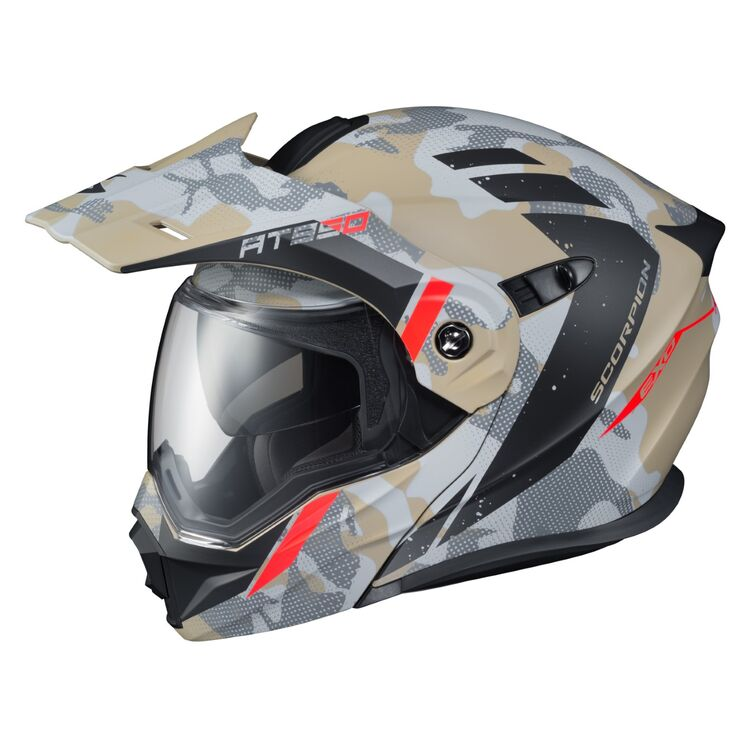 Scorpion EXO-AT950 Outrigger Full Face Dual Sport Motorcycle Helmet