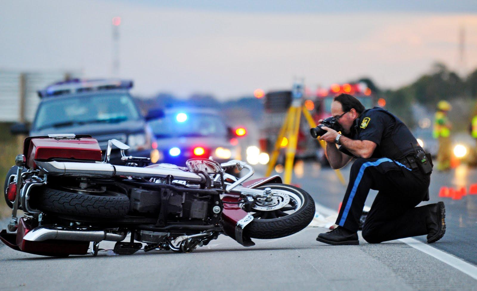 What to do if you come across a motorcycle accident