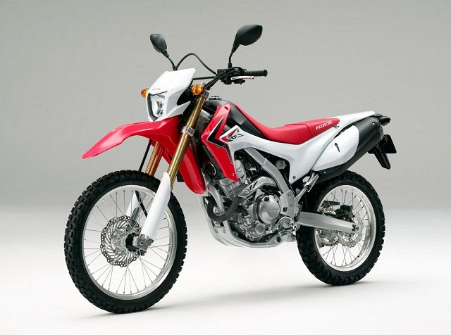 Honda CRF250L Front Side View