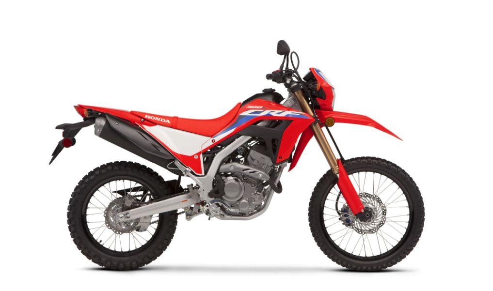 2021 Honda CRF300L Side View