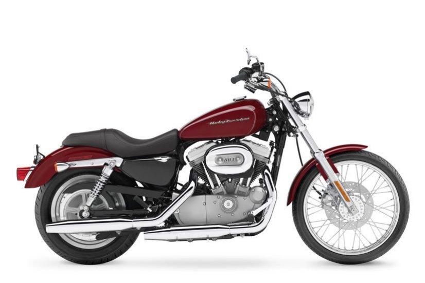 Harley Davidson Sportster 883 Custom (XLH883C) Side View