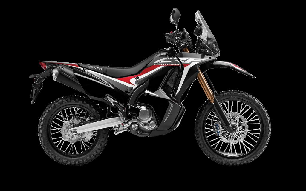 2020 Honda CRF250L Rally Side View
